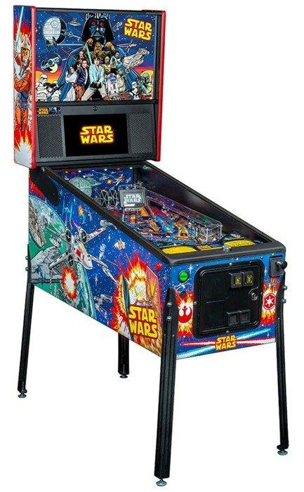 Star Wars Comic Art Pinball Machine