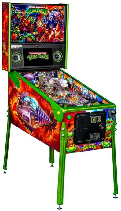 TMNT Pinball Limited Edition